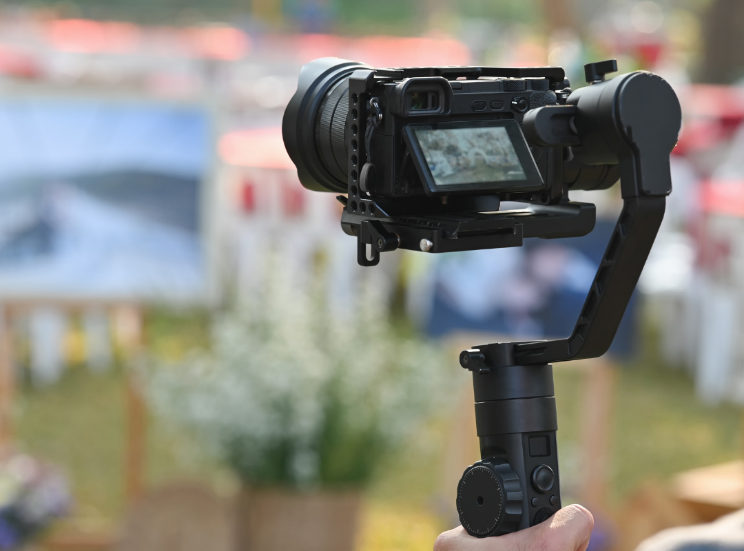 in video advertising camera